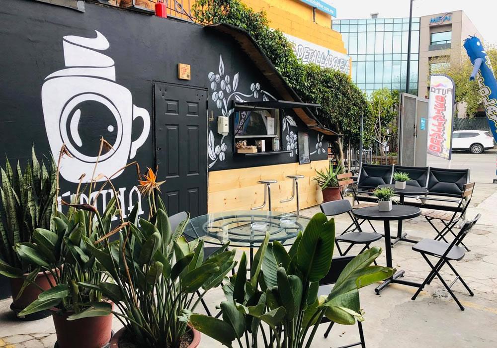 Cafeteria en el Centro de Tijuana